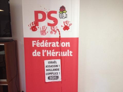 Non à la criminalisation du mouvement de solidarité avec Gaza ! Solidarité avec les militants de BDS France 34 !