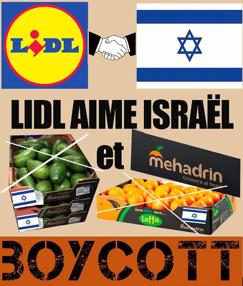 janvier 2015   campagne contre mehadrin chez lidl