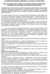 Microsoft Word - LE COMITÉ BDS FRANCE 34 RÉPOND À LA LICRA ET