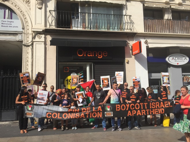 Avec BDS-Egypte, pressons Orange !