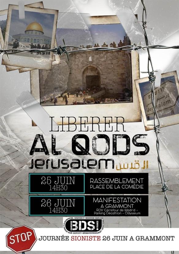 AFFICHE 3journeìe Jeìrusalem 2016