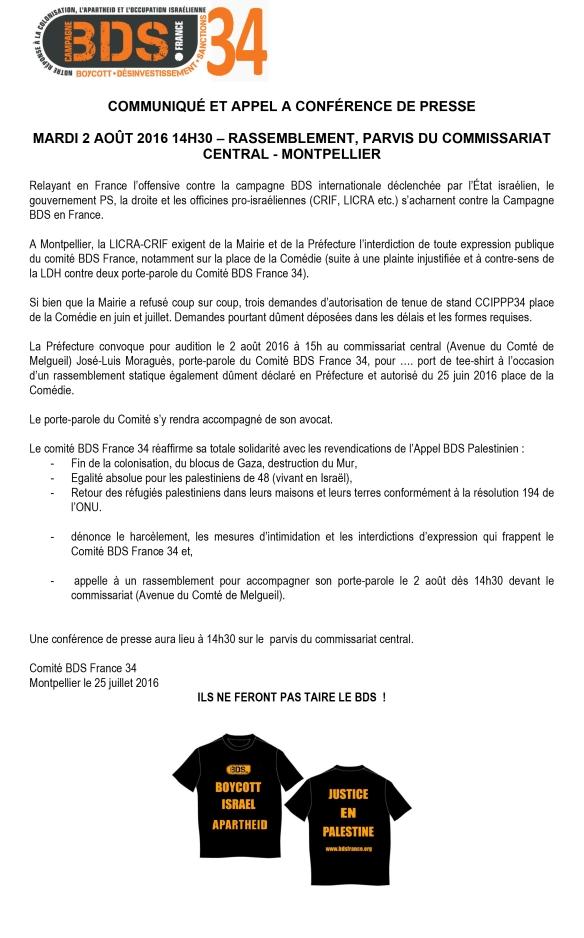 Microsoft Word - COMMUNIQUÉ ET APPEL A CONFÉRENCE DE PRESSE.do