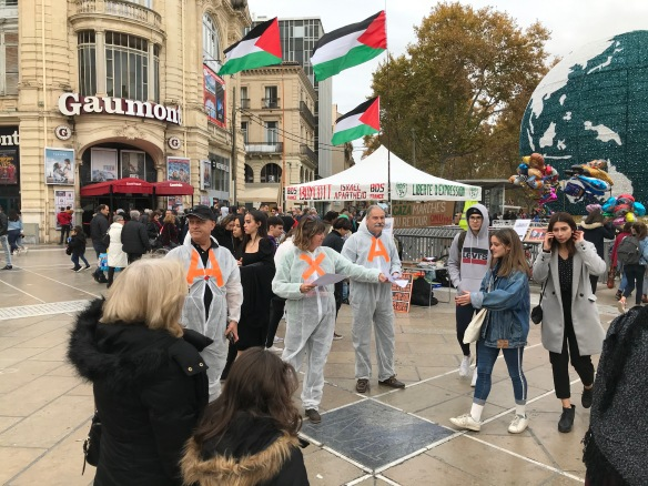 Montpellier 30 nov: Journée internationale contre AXA