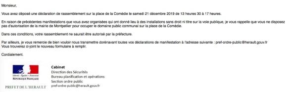 Montpellier La Police Municipale Serait Elle Aux Ordres Du