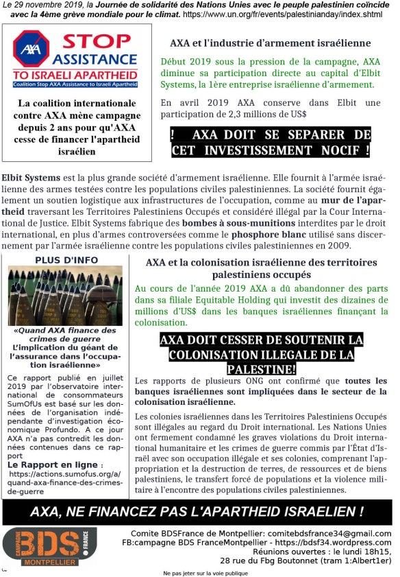 Tract AXA nov 19