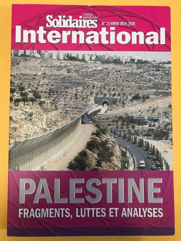 revue palestineSolidaires